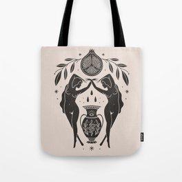 Persephone - Black Tote Bag