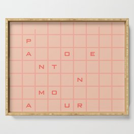 pantone amour Serving Tray
