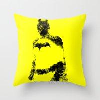 bats Throw Pillows featuring Bats!! by Darthdaloon