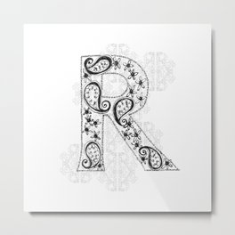 Color Me R Metal Print