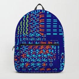 """""""Glitch"""" series #8 Backpack"""