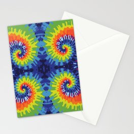 Tie Dye Crazy Stationery Cards