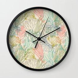 Flowing sea Wall Clock