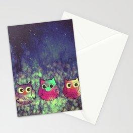 owl 414 Stationery Cards