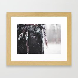 Winter Hill Tacoma Framed Art Print