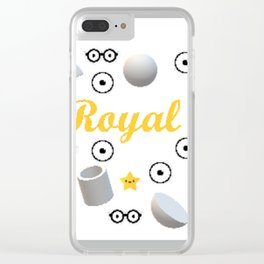 Royale Clear iPhone Case