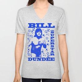 Legendary Memphis Wrestler Bill Dundee Unisex V-Neck