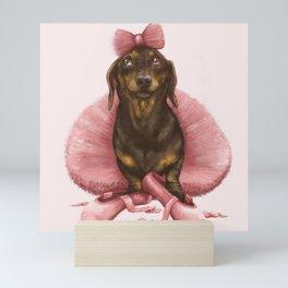 Ballerwiener Mini Art Print