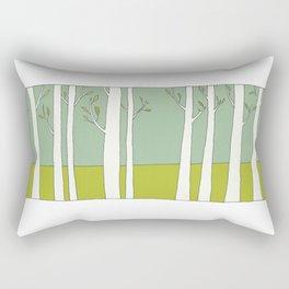 The Trees Rectangular Pillow