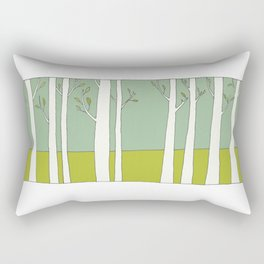 The Trees Rectangular Pillow