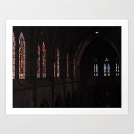 La Basílica del Sagrado Voto Nacional, Nueve Art Print
