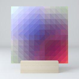 Blend Pixel Color 4 Mini Art Print