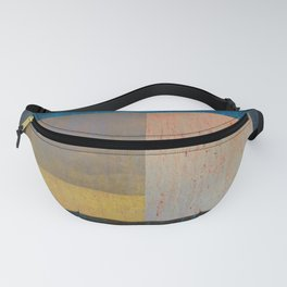 Geometric Texture Abstract II Fanny Pack