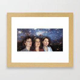 THE THREE GREAT LADIES Framed Art Print