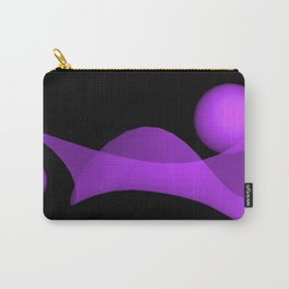 violet wave Carry-All Pouch