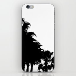Palm tree Line up! iPhone Skin