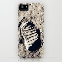 One Giant Leap For Mankind iPhone Case