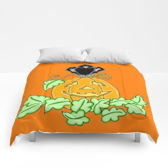 Halloween Crow Roost Comforters