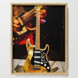 Stevie Ray Vaughan - #1 Guitar Serving Tray