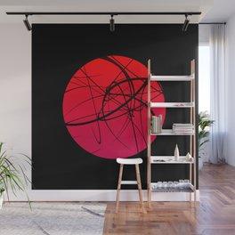 Red Dot | Abstract Art | Pop ART Wall Mural