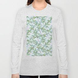 Delicate Leaves #society6 #buyart Long Sleeve T-shirt