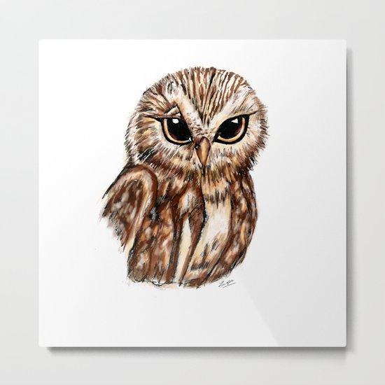 Wise 'Ole Owl Metal Print