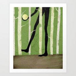 Betula Art Print