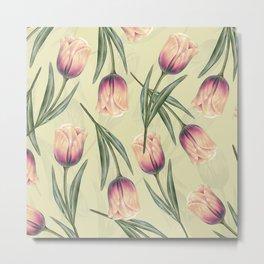 Tulipa pattern 2.3 Metal Print