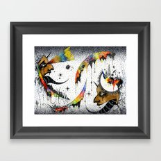 Election  Framed Art Print