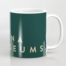 A Latina in Museums (box) Coffee Mug