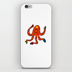 octopus in mittens iPhone & iPod Skin