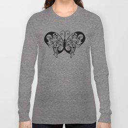 Artistic Butterfly Long Sleeve T-shirt