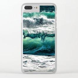 Wave Series Photographic Portrait #3 - Jéanpaul Ferro Clear iPhone Case