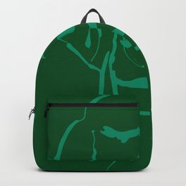 Smell life. Green. Backpack