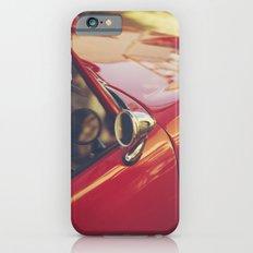 Fine art print, red supercar details, high quality photo, deep of field, macro, triumph spitfire Slim Case iPhone 6s
