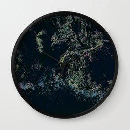 Get Lost Among The Trees Wall Clock