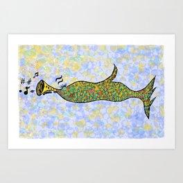 pipefish Art Print