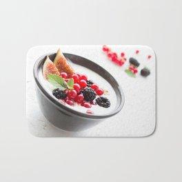 healthy breakfast Bath Mat