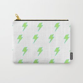 Bolt- Lime Green Carry-All Pouch