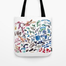 Waterbirds Tote Bag