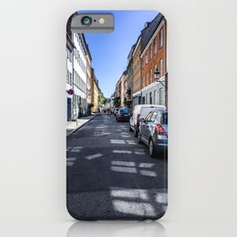 Lazy Summer Days in Old Town Copenhagen Denmark iPhone Case