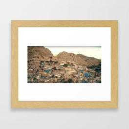Heaven On Earth Series - Kurdistan, by Adam Asar Framed Art Print