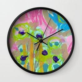 Posies Wall Clock