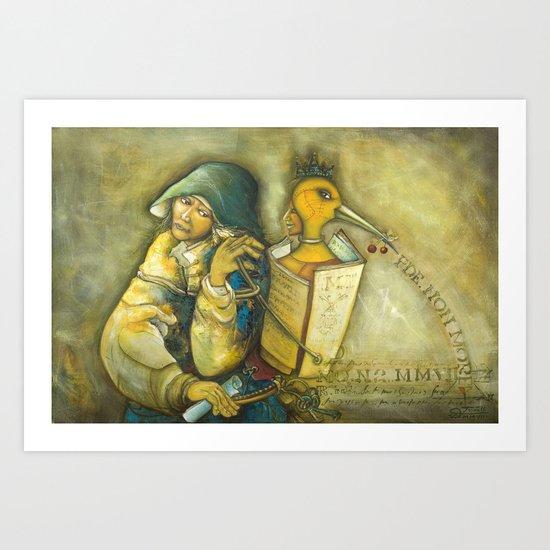 Traveller Art Print