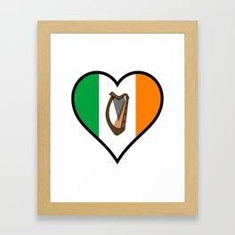 Love Ireland Framed Art Print