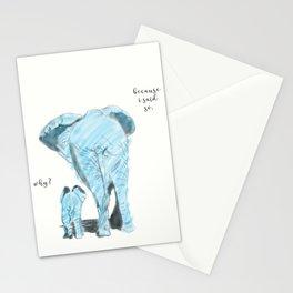 Mama elephant Stationery Cards