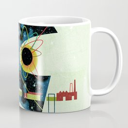 Retro Atomic factory cosmic splender Coffee Mug