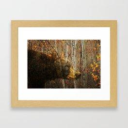 The Forest Bear Framed Art Print