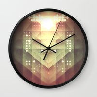 dreamer Wall Clocks featuring Dreamer by Jesse Rather