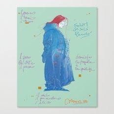Pardo' Canvas Print
